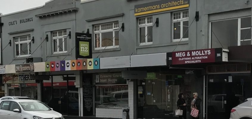 The changing face of Remuera: 392-398 Remuera Rd
