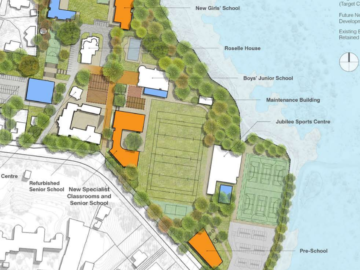 St Kentigern Proposed Development on Shore Road site