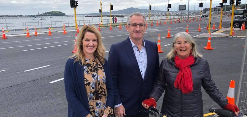Tamaki Drive – Ngapipi Road intersection Update