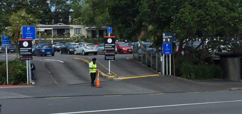 Clonbern Road Upper Level Carpark – Weight Restriction