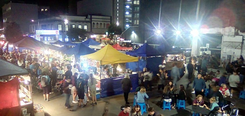 Night Market in Remuera